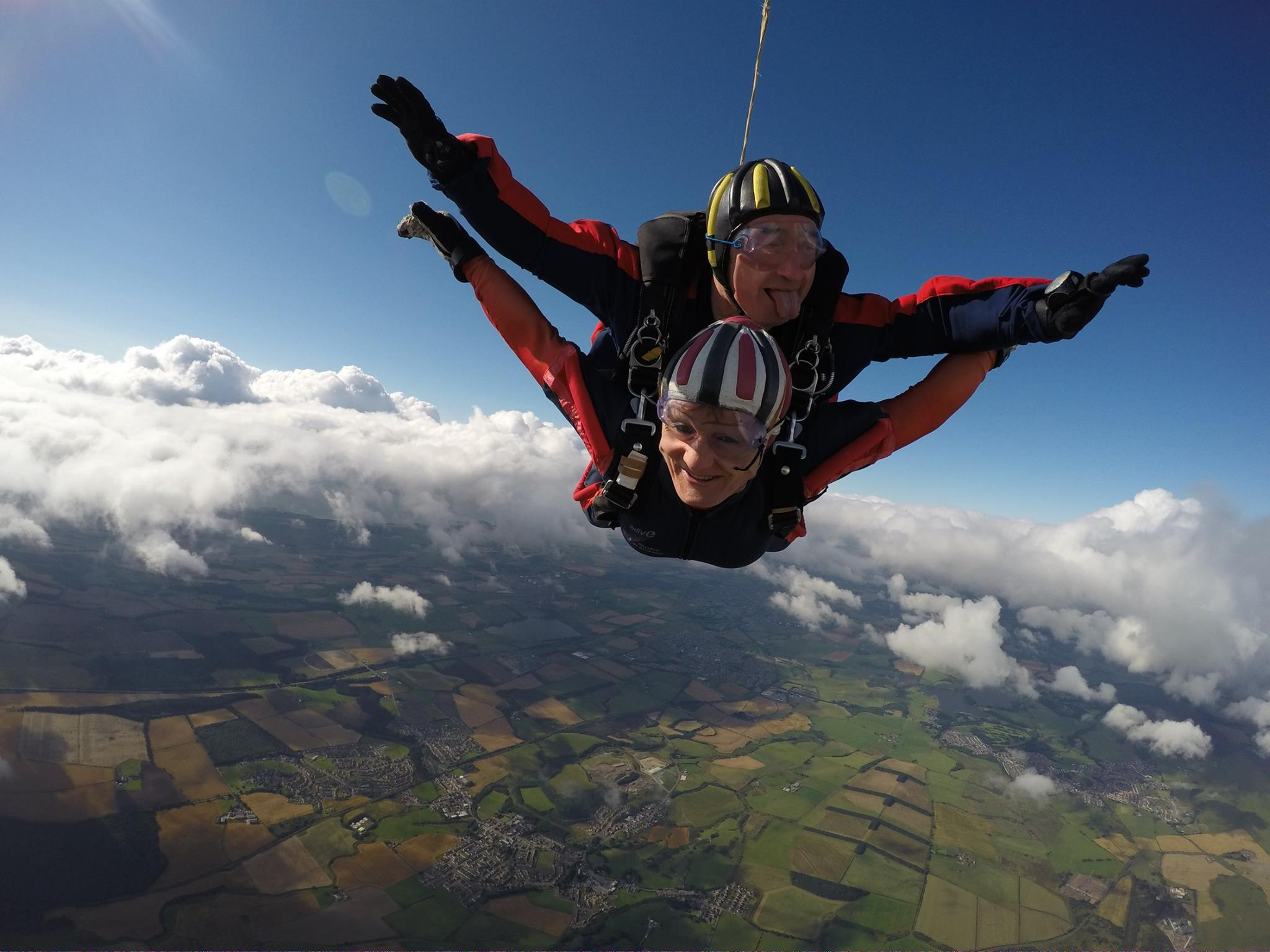 Sponsored Skydive For Stonewall Scotland